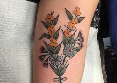 Traditional Wattle Flowers