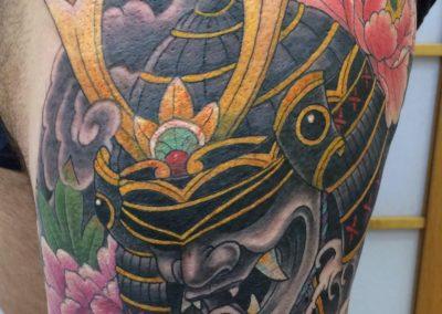 japanese samari warrior tattoo
