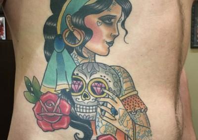 Tattooed Gypsy Girl